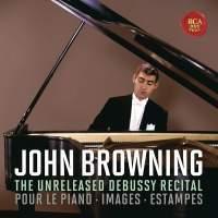 John Browning - CD12 The Unreleased Debussy Recital