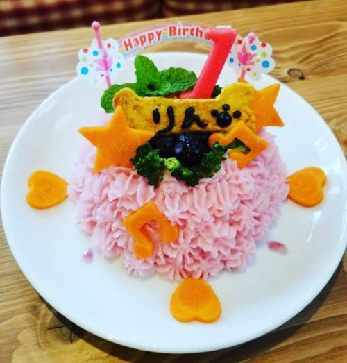 りん誕生日ケーキ01