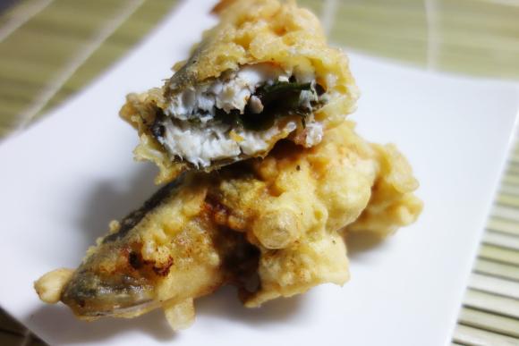 鮎の天ぷら05