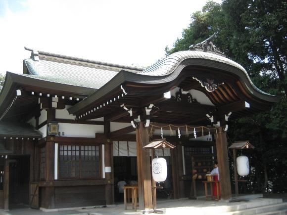 氷上姉子神社・本殿11