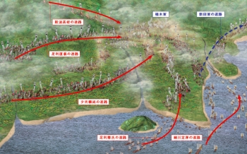 「図解 南北朝争乱」湊川の戦い