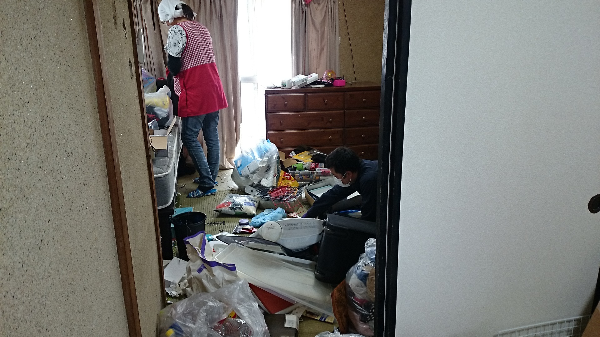 汚部屋掃除