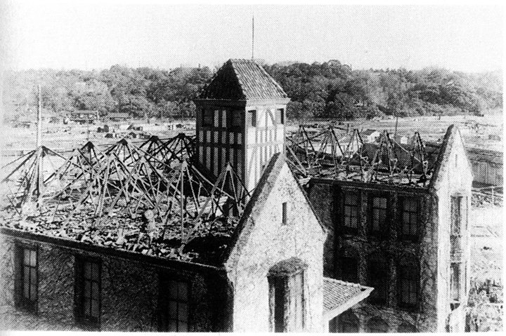 Waseda_University_after_Tokyo_bombings,_March_1945_(2)