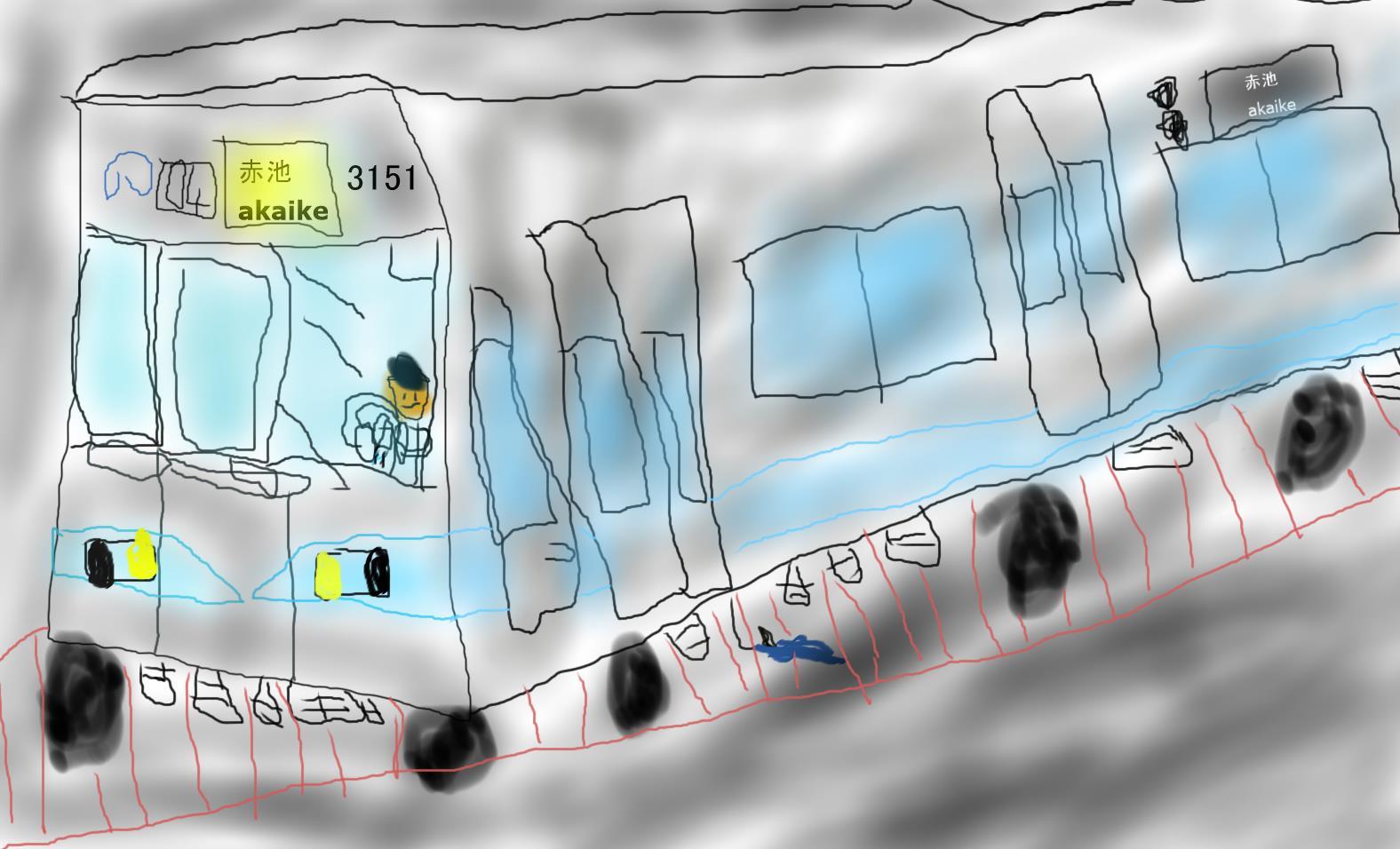 地下鉄を走る鶴舞線