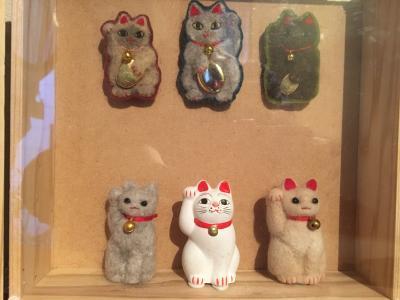 招き猫毛人形達☆