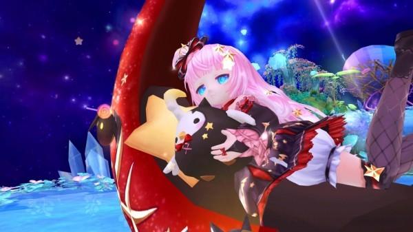 クロスジョブファンタジーMMORPG『星界神話』 お菓子集めの眠り神・ルナが登場…!!