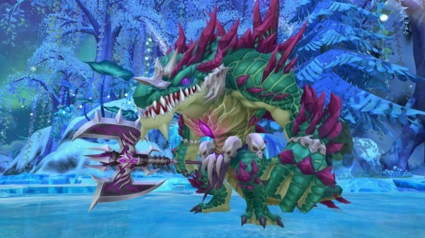 クロスジョブファンタジーMMORPG『星界神話』 新たな世界ボスとして暴威の覇王「バグー」を実装…!!