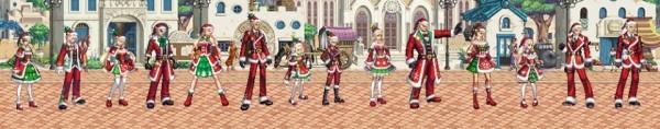 爽快アクションオンラインゲーム『アラド戦記』 クリスマスイベントを開催♪アバター等がセットになった「アラドサンタパッケージ」の販売を開始