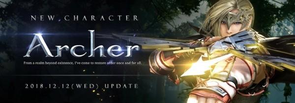 ノンターゲティングアクションRPG『黒い砂漠』 12月12日に新クラス「アーチャー」が実装決定したよ