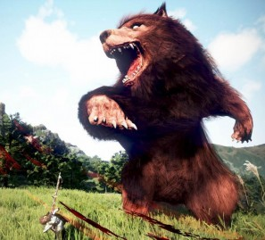 ノンターゲティングアクションRPG『黒い砂漠』 巨大クマが大暴れ!貴重なアイテムが手に入る「マンモル襲来イベント」を開催