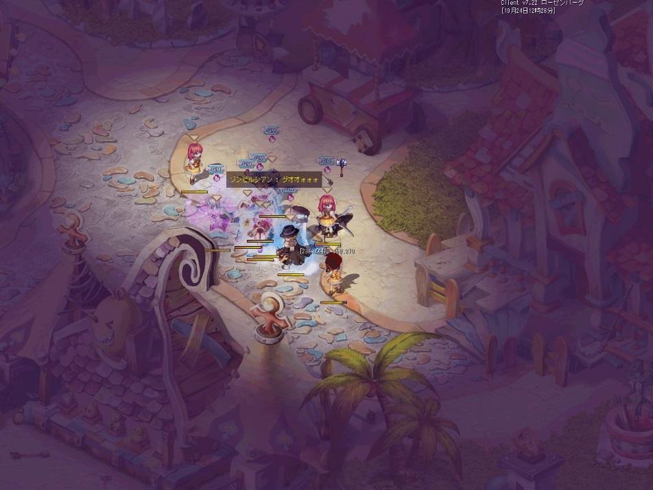 2DファンタジーRPG『テイルズウィーバー』 「ゾンビ回避」と「ゼリッピ大激突」がチーム用常設ミニゲームとして実装