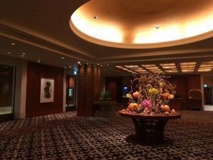 帝国ホテル大阪ロビー-201710