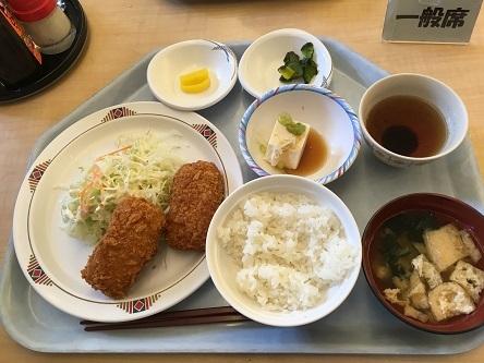 NTT東日本札幌病院 食堂 「日替りランチ」と術前検査