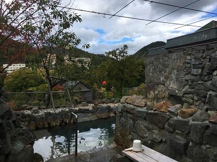 定山渓温泉 日帰り入浴 ホテル山水