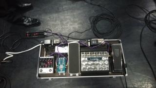 171103 KajiURA FEM pedal board