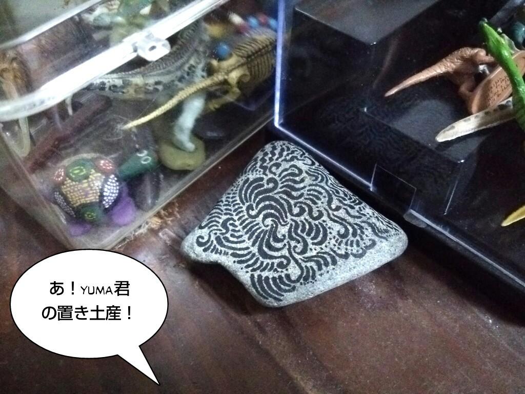 あ!yuma君の置き土産!