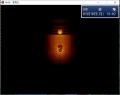 洞窟の灯りの処理の実験1