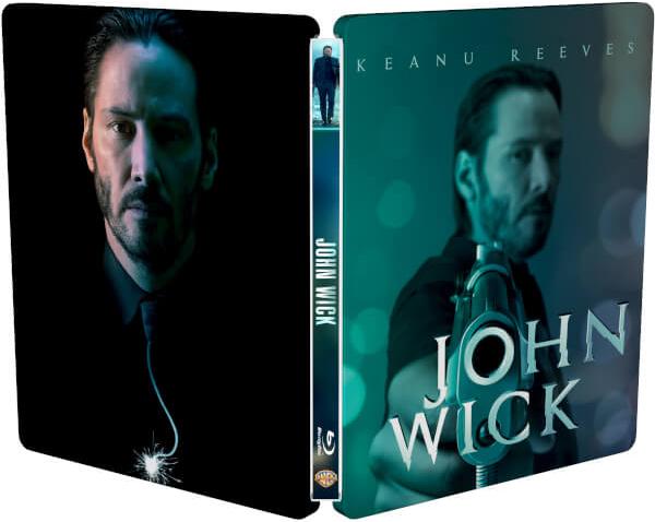 ジョン・ウィック スチールブック John Wick zavvi steelbook