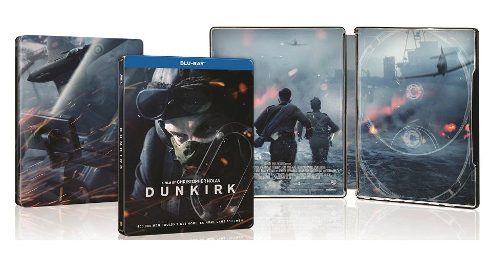 ダンケルク スチールブック DUNKIRK steelbook