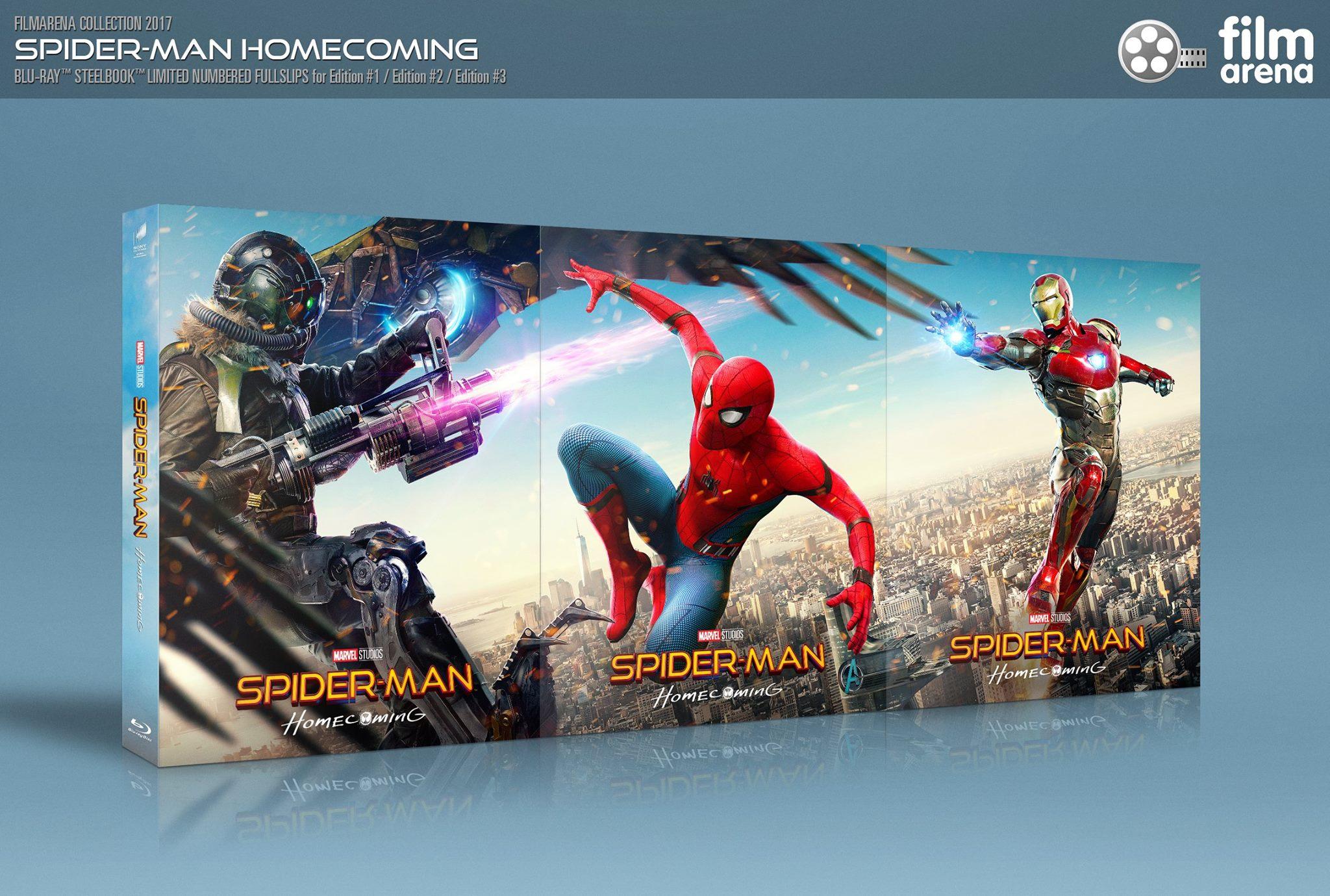 スパイダーマン:ホームカミング FilmArena FAC スチールブックsteelbook