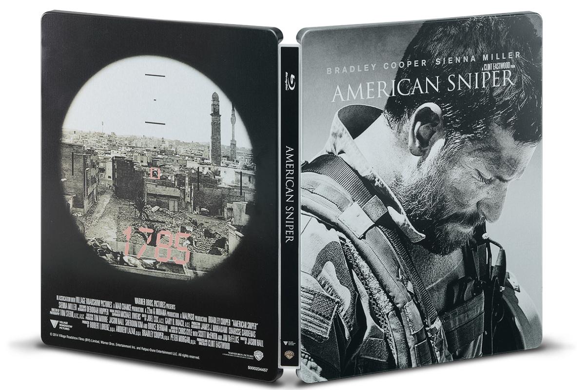 アメリカン・スナイパー スチールブック steelbook