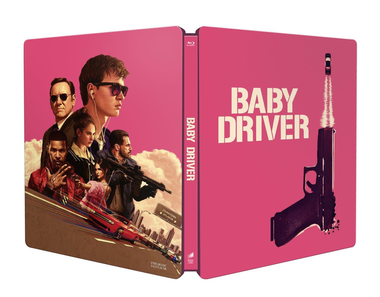 ベイビー・ドライバー スチールブック baby driver UK steelbook