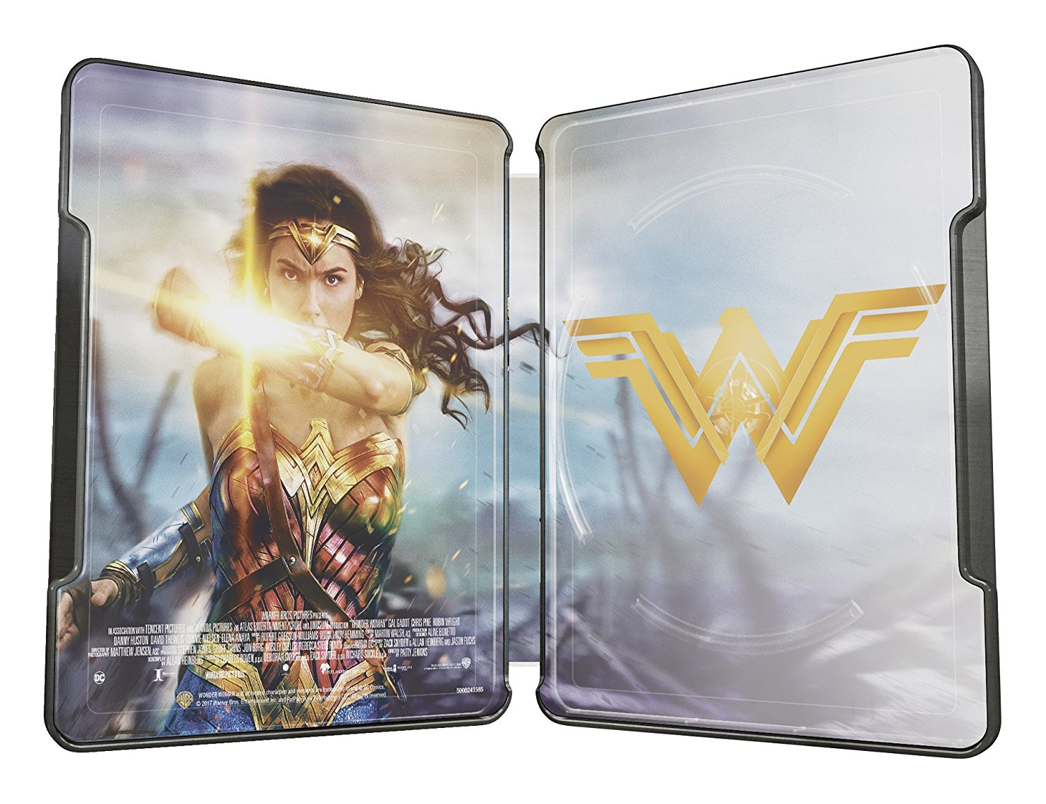ワンダーウーマン スチールブック Wonder Woman Illustrated Artwork Steelbook