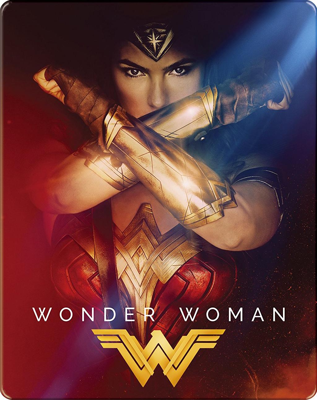 ワンダーウーマン wonder woman スチールブックsteelbook