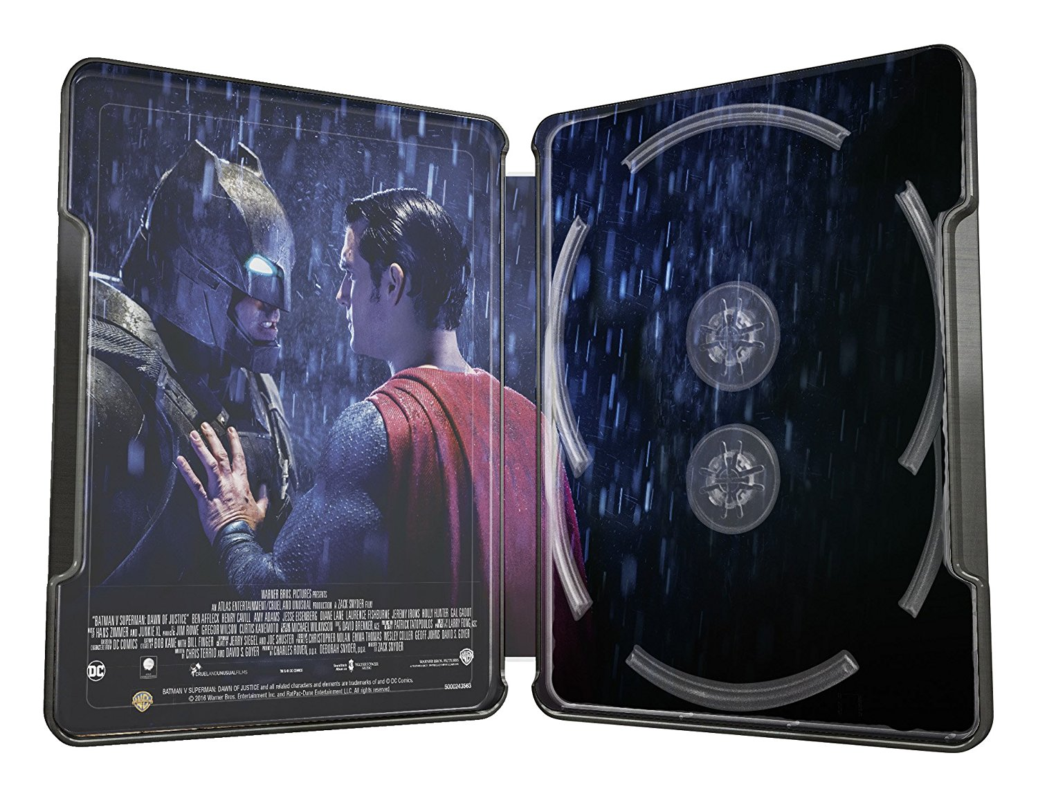 バットマン vs スーパーマン ジャスティスの誕生 スチールブック Batman v Superman: Dawn of Justice Ultimate Edition Illustrated Artwork Steelbook
