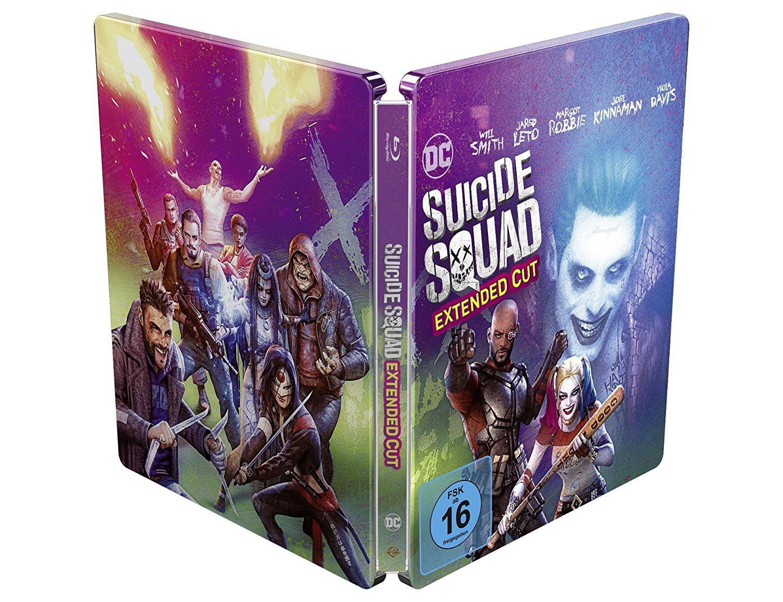 スーサイド・スクワッド エクステンデッド・エディション スチールブック Suicide Squad Illustrated Artwork Steelbook