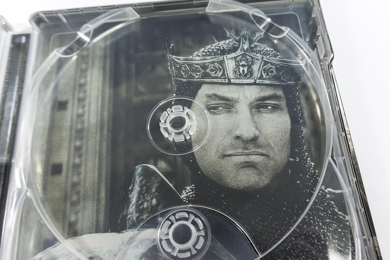 キング・アーサー フランス スチールブック King Arthur Fnac steelbook