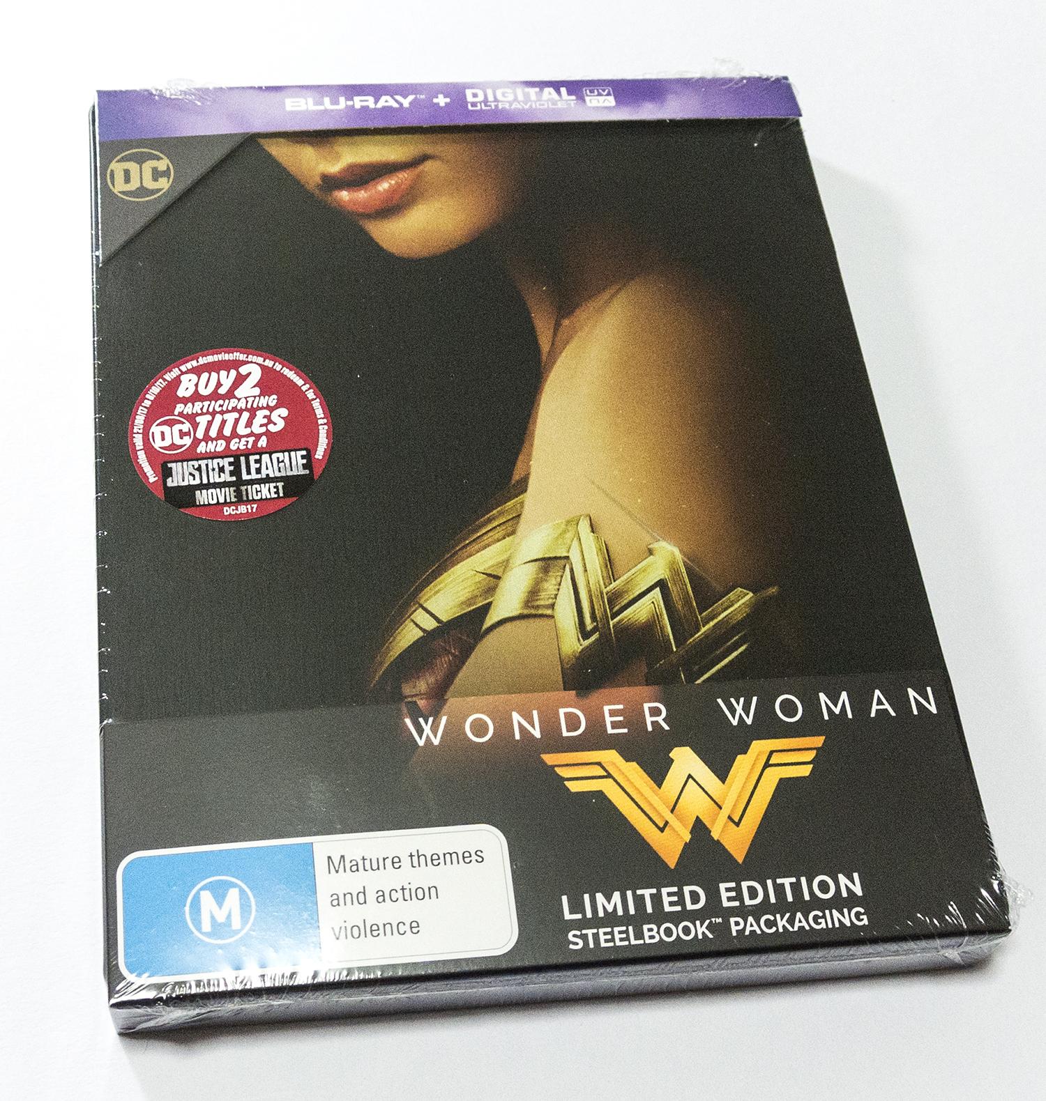 ワンダーウーマン スチールブック WONDER WOMAN steelbook