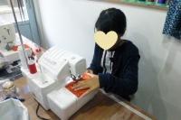 小学生の手芸教室~テトラポーチ