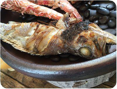 炭道備長炭海鮮焼烤魚