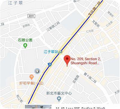 豐華小館 地図