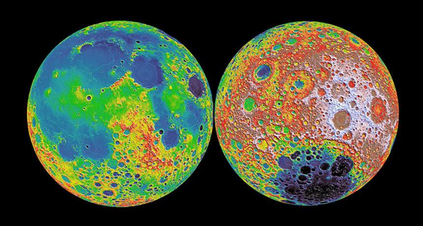 月の本当の色を知ってますか?「青」「ピンク」「茶色」なんです。 灰色に見えるのは表面に積もった「埃」