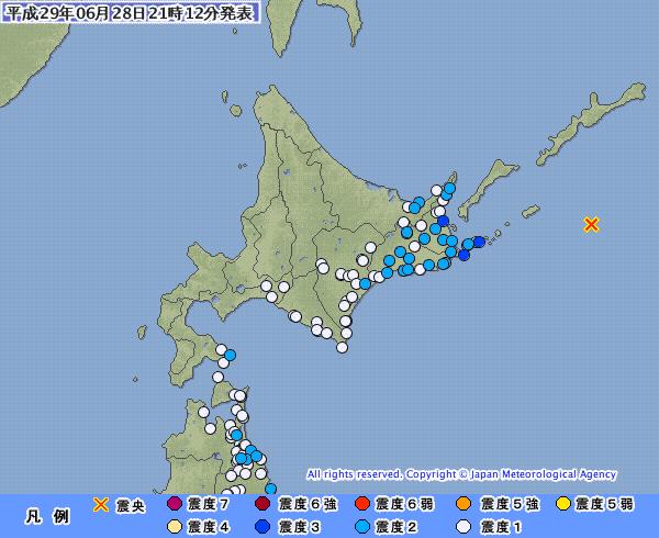 【ひずみ】北海道で最大震度3の地震…根室でも「巨大地震の可能性」があるんだよな