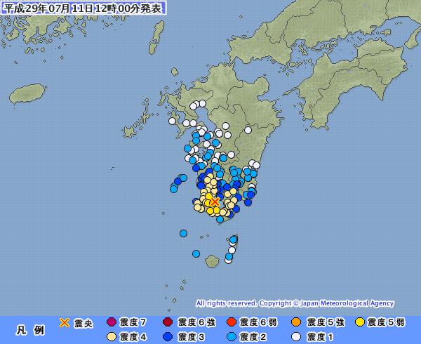 【鹿児島湾・震度5強】京大教授「今のところ、桜島の火山活動の高まりを示すようなデータの変動はない」