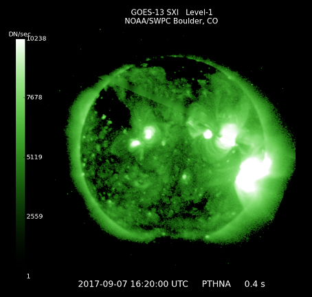 【磁気嵐】過去12年で最強の「太陽フレア」が地球に直撃する!「8日15:00~24:00時頃」に影響か…既に通信障害が発生しはじめたとの報告も