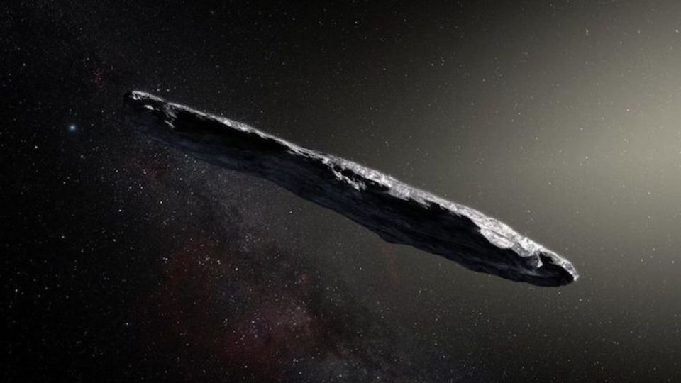 【オウムアムア】まるで宇宙船のような「小惑星」…長さは800メートル、天体名は「最初の使者」を意味する