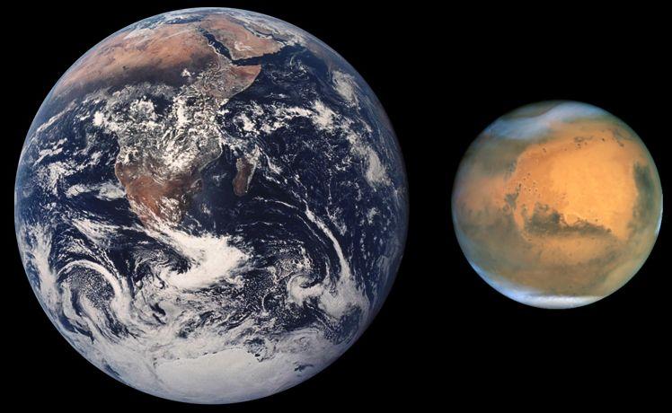 【惑星衝突】10億年後に「地球と火星」が衝突する可能性があります!