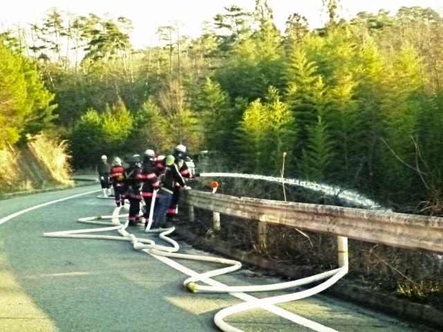 【風評被害】福島で起きた山林火災…放射性セシウム「3~9倍」に上昇していたと発表