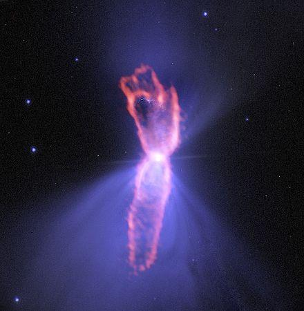 【NASA】宇宙で最も冷たい「-273.15℃」のガスがこちら…赤色巨星付近のブーメラン星雲