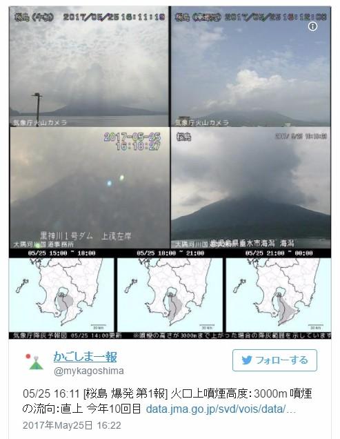 【地下】桜島の真下に「新たなマグマ滞留」が存在…人工地震波探査で判明