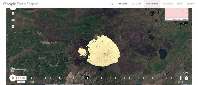 【デューン】アラスカの永久凍土が解けて「砂漠」が出現