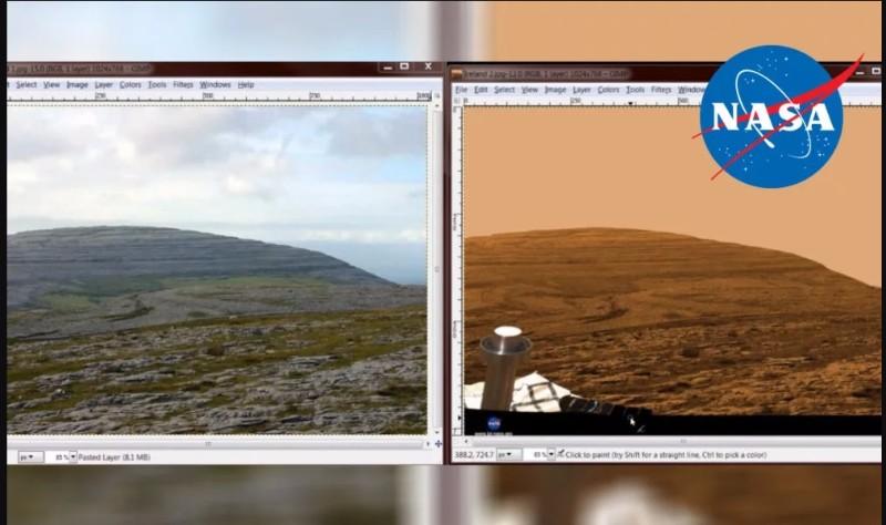 NASAが「火星」で撮影したとされる画像は「カナダのデヴォン島」で撮影か?一致する箇所が多すぎる!ネズミも確認!