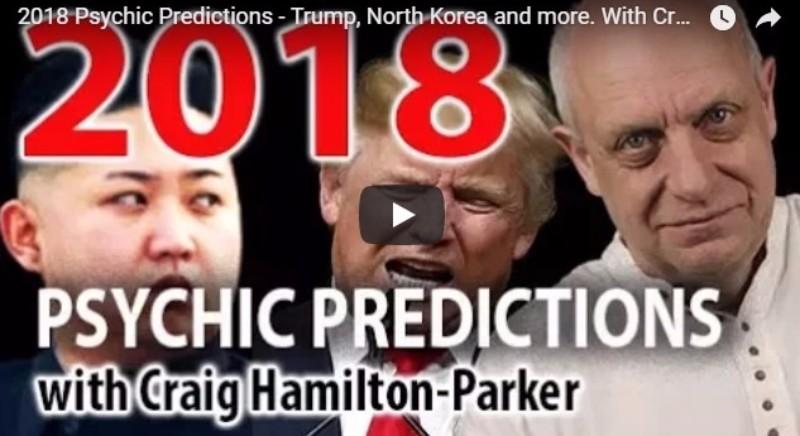 【未来】世界一当たると評判の予言者が「2018年」の予言を発表