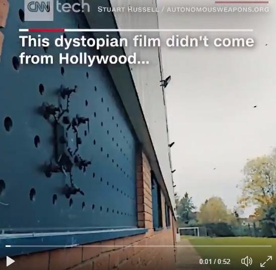 【近未来】自律回路ドローン集団が武器へと変わる日…兵器転用ロボット禁止を訴える研究者らが作った短編動画が描く戦慄の未来