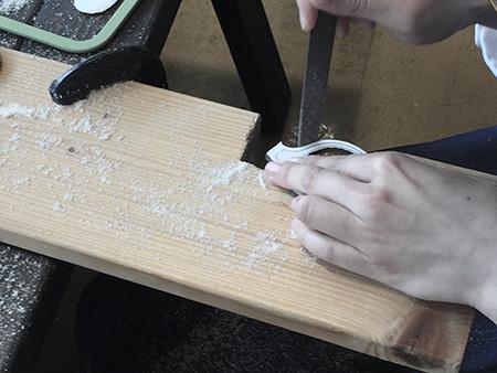 手作り めがねフレーム 自分で作る眼鏡 職人体験 新潟 長岡 三条 見附