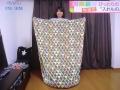 まちかど情報室 毛布 クッション 筒状